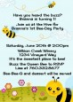 Happy Bee Day - Birthday Party Invitations thumbnail