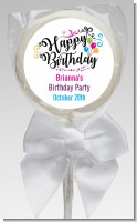 Happy Birthday - Personalized Birthday Party Lollipop Favors