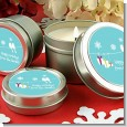 Happy Holidays on a String - Christmas Candle Favors thumbnail