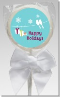 Happy Holidays on a String - Personalized Christmas Lollipop Favors