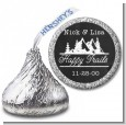 Happy Trails - Hershey Kiss Bridal Shower Sticker Labels thumbnail