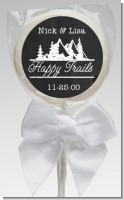 Happy Trails - Personalized Bridal Shower Lollipop Favors