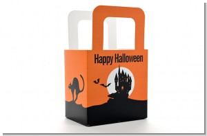 Haunted House - Personalized Halloween Favor Boxes