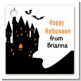 Haunted House - Personalized Halloween Card Stock Favor Tags thumbnail