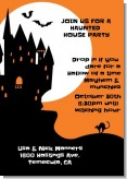 Haunted House - Halloween Invitations