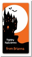 Haunted House - Custom Rectangle Halloween Sticker/Labels