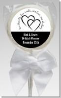 Hearts & Soul - Personalized Bridal Shower Lollipop Favors
