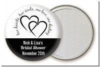 Hearts & Soul - Personalized Bridal Shower Pocket Mirror Favors