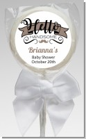 Hello Handsome - Personalized Baby Shower Lollipop Favors