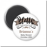 Hello Handsome - Personalized Baby Shower Magnet Favors