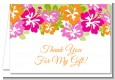 Hibiscus - Bridal Shower Thank You Cards thumbnail