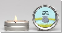 Hippopotamus Boy - Baby Shower Candle Favors