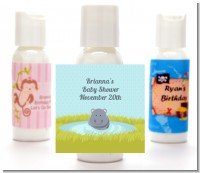 Hippopotamus Boy - Personalized Baby Shower Lotion Favors