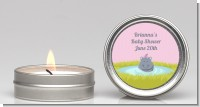 Hippopotamus Girl - Baby Shower Candle Favors