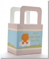 Angel in the Cloud Girl Hispanic - Personalized Baby Shower Favor Boxes