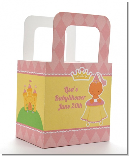 Little Princess Hispanic - Personalized Baby Shower Favor Boxes