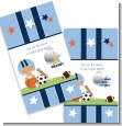 Sports Baby Hispanic - Baby Shower Scratch Off Game Tickets thumbnail