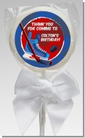 Hockey - Personalized Birthday Party Lollipop Favors