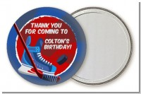 Hockey - Personalized Birthday Party Pocket Mirror Favors