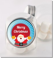 Ho Ho Ho Santa Claus - Personalized Christmas Candy Jar