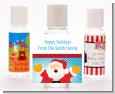 Ho Ho Ho Santa Claus - Personalized Christmas Hand Sanitizers Favors thumbnail
