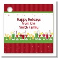 Holiday Cocktails - Personalized Christmas Card Stock Favor Tags thumbnail