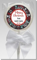 Holly Berries - Personalized Christmas Lollipop Favors