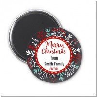 Holly Berries - Personalized Christmas Magnet Favors