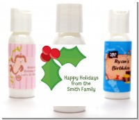 Holly - Personalized Christmas Lotion Favors