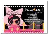 Hollywood Diva on the Pink Carpet - Birthday Party Petite Invitations