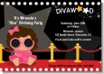 Hollywood Diva on the Red Carpet - Birthday Party Invitations thumbnail