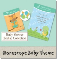 Horoscope Baby Shower Theme