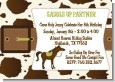 Horse - Birthday Party Invitations thumbnail