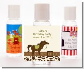 Horse - Personalized Birthday Party Hand Sanitizers Favors