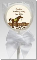 Horse - Personalized Birthday Party Lollipop Favors