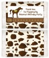Horse - Personalized Popcorn Wrapper Birthday Party Favors thumbnail