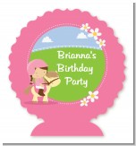 Horseback Riding - Personalized Birthday Party Centerpieces
