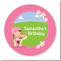 Horseback Riding - Personalized Birthday Party Table Confetti