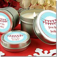 Hot Air Balloons - Christmas Candle Favors