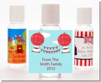 Hot Air Balloons - Personalized Christmas Hand Sanitizers Favors