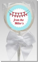 Hot Air Balloons - Personalized Christmas Lollipop Favors