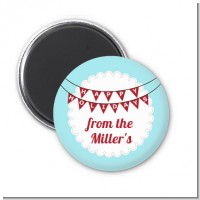 Hot Air Balloons - Personalized Christmas Magnet Favors