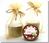 Hot Cocoa Party - Christmas Gold Tin Candle Favors