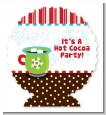 Hot Cocoa Party - Personalized Christmas Centerpiece Stand thumbnail
