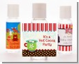 Hot Cocoa Party - Personalized Christmas Hand Sanitizers Favors thumbnail