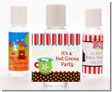 Hot Cocoa Party - Personalized Christmas Hand Sanitizers Favors