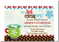 Hot Cocoa Party - Christmas Petite Invitations