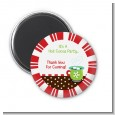 Hot Cocoa Party - Personalized Christmas Magnet Favors thumbnail