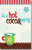 Hot Cocoa Party - Personalized Christmas Wall Art
