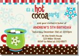 Hot Cocoa Party - Christmas Invitations